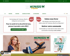 Chaussures Mephisto sur Toulouse